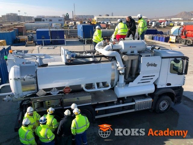 koks academy training education industrial cleaning safety