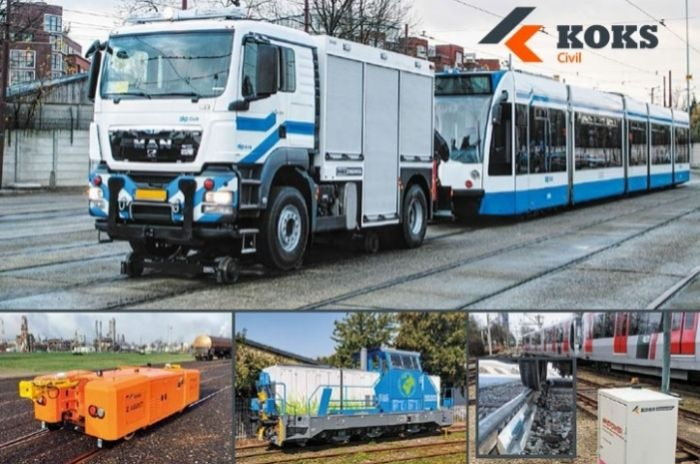 koks civil rail road shunting vehicles lubrication conditioning