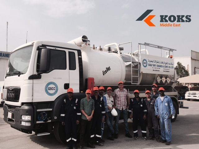 koks middle east saudi arabia industrial cleaning equipment