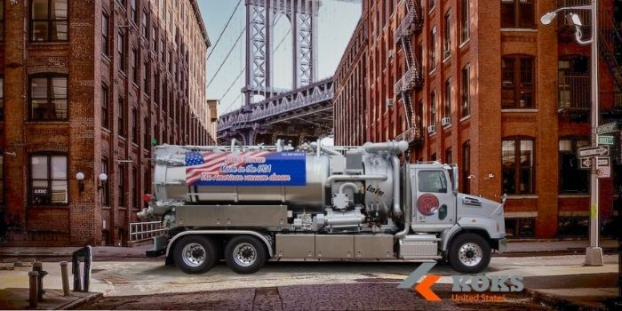koks usa dot vacuum trucks industry cleaning equipment